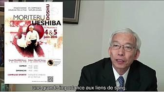 EXCLUSIF  le Doshu Moriteru UESHIBA sera en France les 4 et 5 juin pour des Stages d'Exeptions #Haikido @FFAB #TvLocale_fr