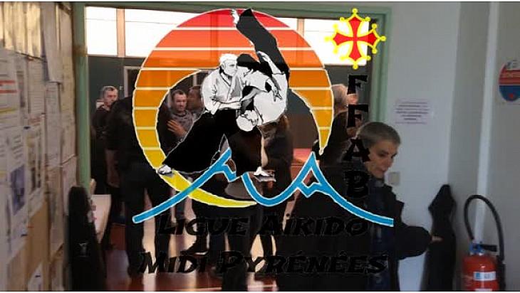 Ligue FFAB Aïkido Midi-Pyrénées : la Ligue de Midi-Pyrénées d'aïkido et de Budo ( FFAB)  en Ariège' sur un thème Aïki Handi »  #Aikido