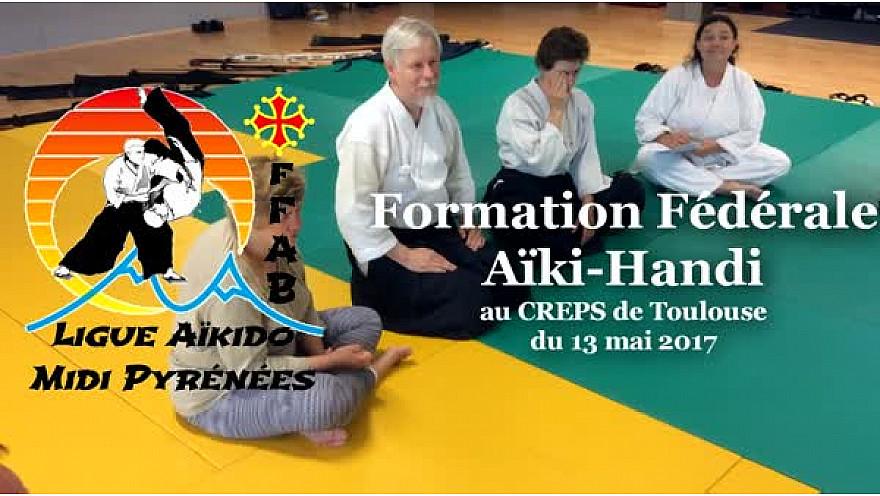 Formation Fédérale d' Aïkido-Handi au CREPS de Toulouse