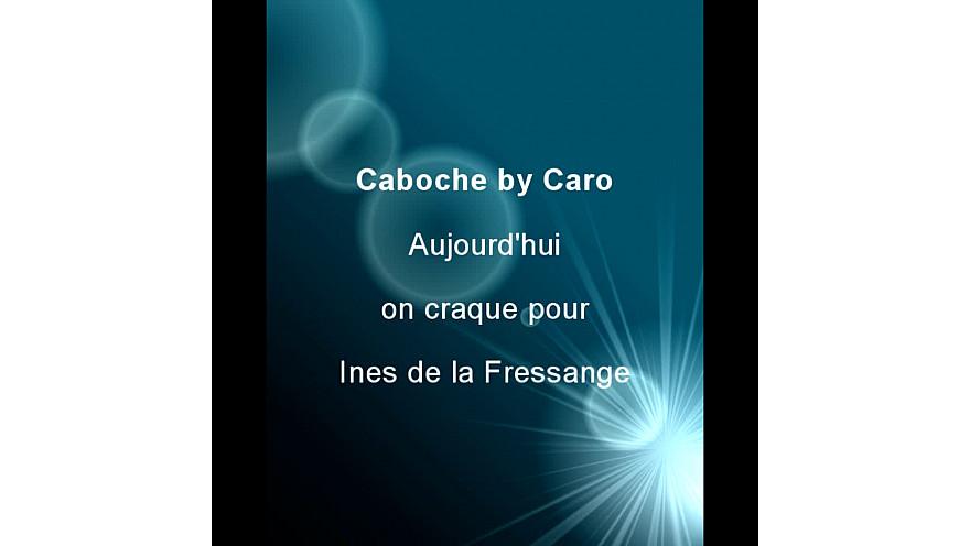 Aujourd'hui on craque pour Ines de la Fressange chez Caboche by Caro