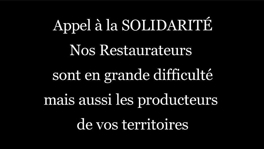 Appel à la solidarité de Stéphane LAYANI Président du Marché International de Rungis. Ensemble SAUVONS NOS RESTAURATEURS @slayani @marchederungis @Marchesdegros @UMIH_France