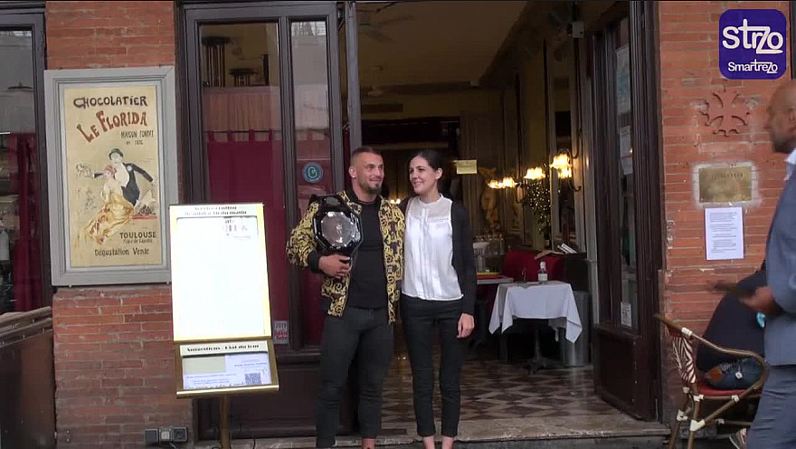 Tv Locale Toulouse : Interview du Toulousain Valentin Bonneau Champion du Monde 2021 de Ju Jitsu Full Contact au Florida Toulouse