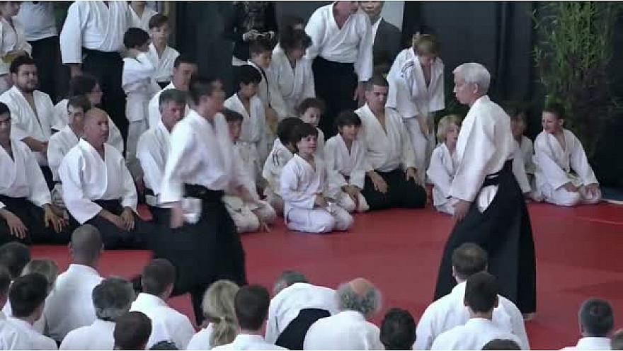 Aïkido: Stage Doshu Moriteru UESHIBA juin 2016 FFAB