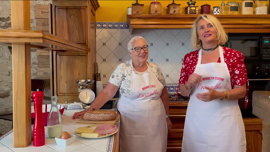 Le mardi en cuisine avec Mamie Lulu : pain perdu au jambon