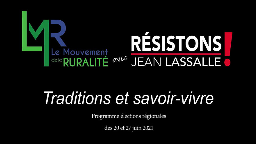 Régionales LMR avec Résistons! Jean Lassalle : débat 'TRADITIONS et SAVOIR-VIVRE' @EddiePuyjalon @LMR_NAquitaine @jeanlassalle